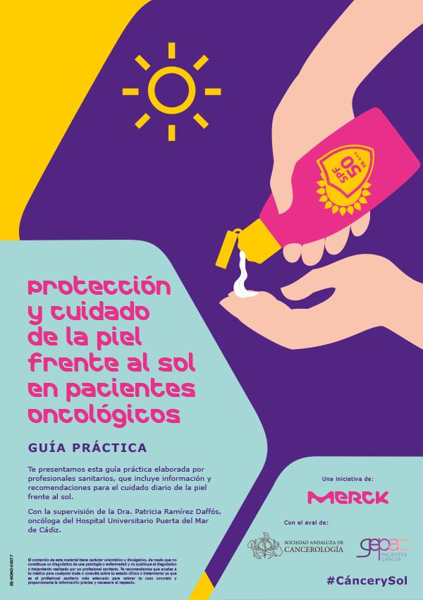 Protección y cuidado de la piel frente al sol en pacientes oncológicos